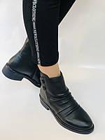 Женские ботинки. На маленьком каблуке. Натуральная кожа. Высокое качество. Molka.  Р. 35, 36, 39.40. Vellena, фото 2