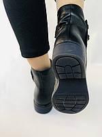 Женские ботинки. На маленьком каблуке. Натуральная кожа. Высокое качество. Molka.  Р. 35, 36, 39.40. Vellena, фото 4