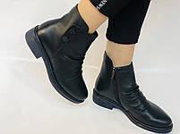 Женские ботинки. На маленьком каблуке. Натуральная кожа. Высокое качество. Molka.  Р. 35, 36, 39.40. Vellena, фото 8