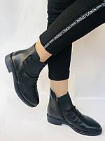 Женские ботинки. На маленьком каблуке. Натуральная кожа. Высокое качество. Molka.  Р. 35, 36, 39.40. Vellena, фото 3