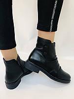 Женские ботинки. На маленьком каблуке. Натуральная кожа. Высокое качество. Molka.  Р. 35, 36, 39.40. Vellena, фото 9