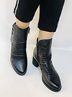 Жіночі черевики. На середньому каблуці. Натуральна шкіра. Люкс якість. Polann. Р. 36.37.40. Vellena, фото 4