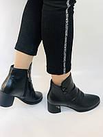 Жіночі черевики. На середньому каблуці. Натуральна шкіра. Люкс якість. Polann. Р. 36.37.40. Vellena, фото 7