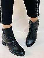 Жіночі черевики. На середньому каблуці. Натуральна шкіра. Люкс якість. Polann. Р. 36.37.40. Vellena, фото 6