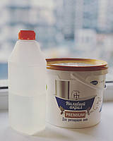 Жидкий акрил для реставрации (заливки) подоконников Plastall Premium 3,3 кг