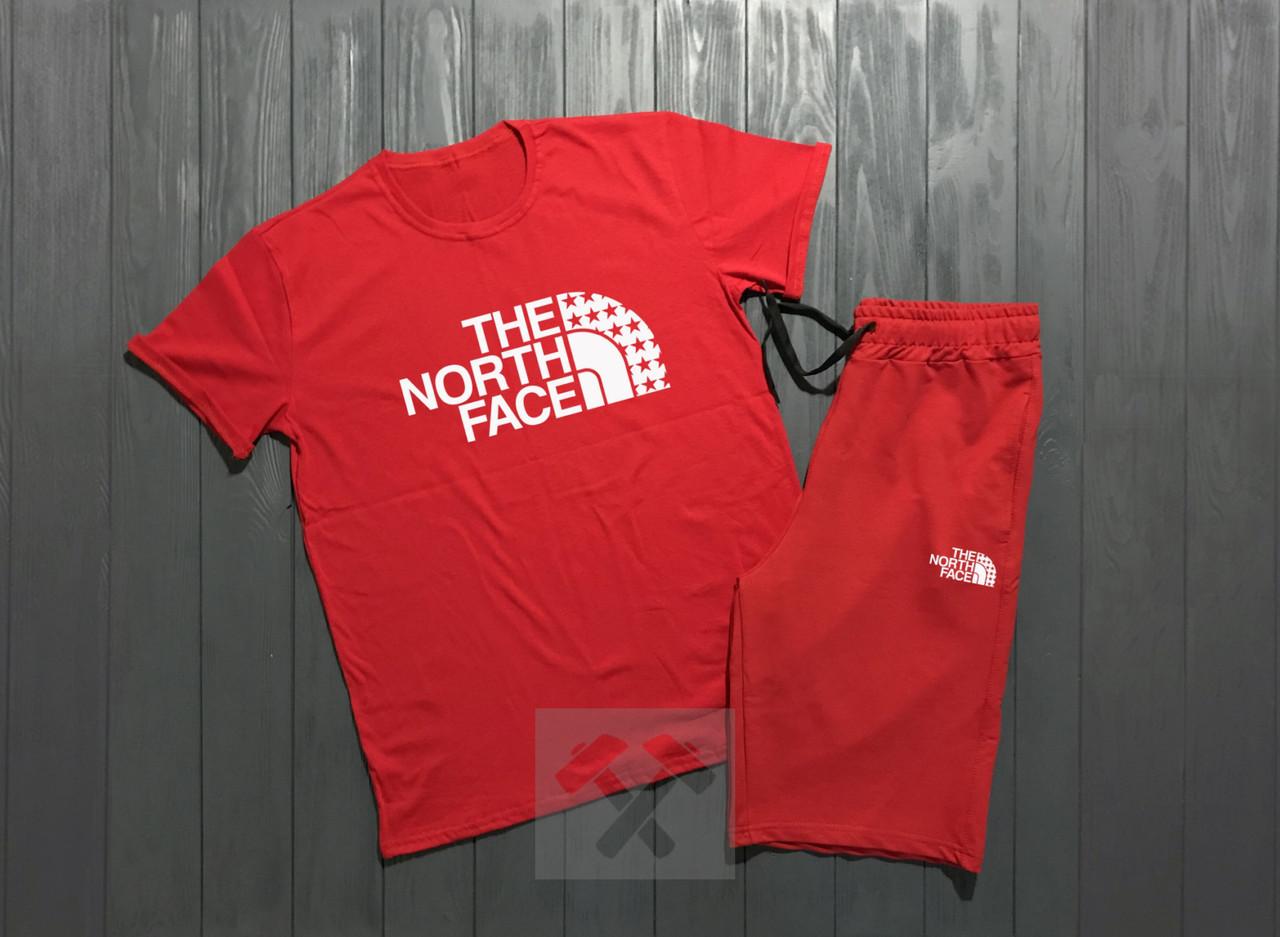 Мужская футболка и шорты Зе норд фейс, трикотажная