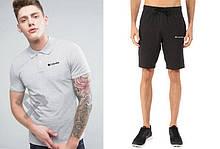 Мужская тениска поло Каламбия, мужская футболка и шорты Columbia