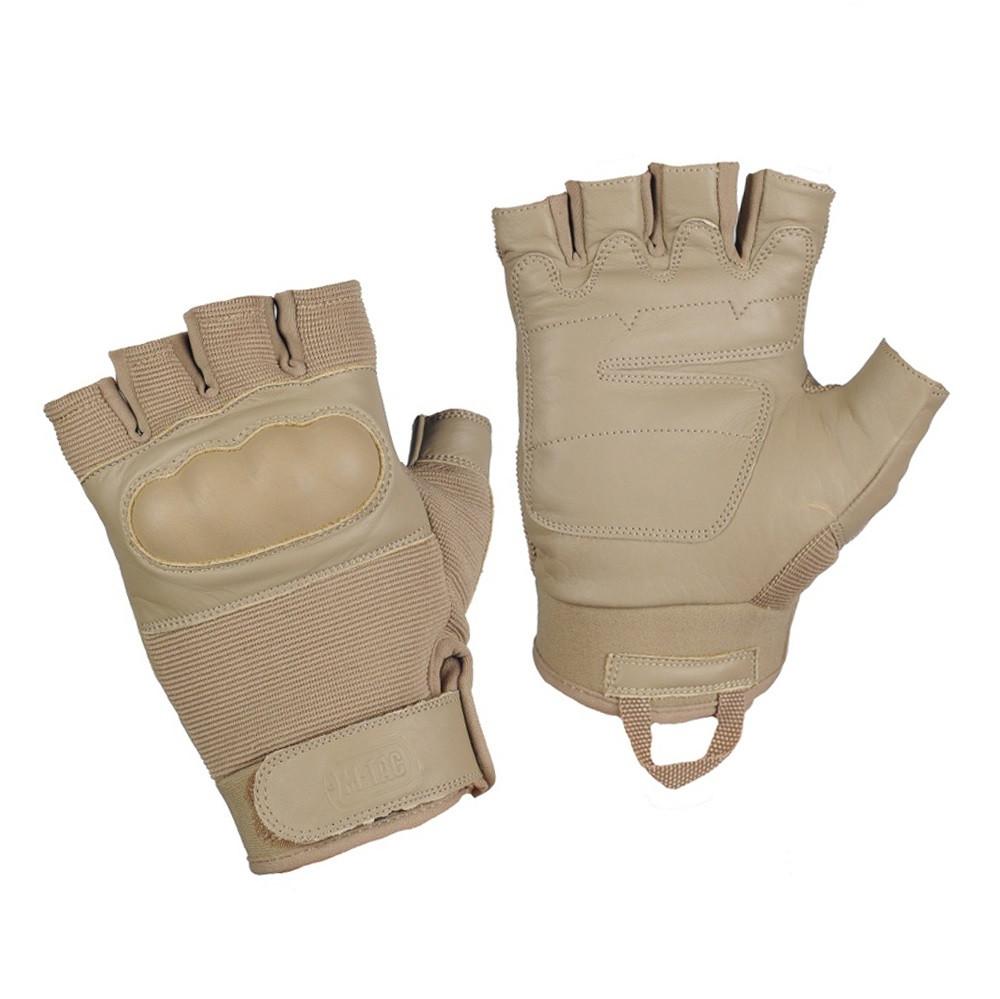 M-Tac перчатки беспалые Assault Tactical mk4. khaki