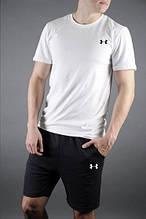Мужская футболка и шорты Андер Армор, трикотажная