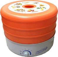 Электросушка для фруктов, ягод, овощей «Суховей» (корпус-метал, 3сита)