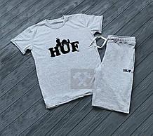 Мужская футболка и шорты Хаф, трикотажная