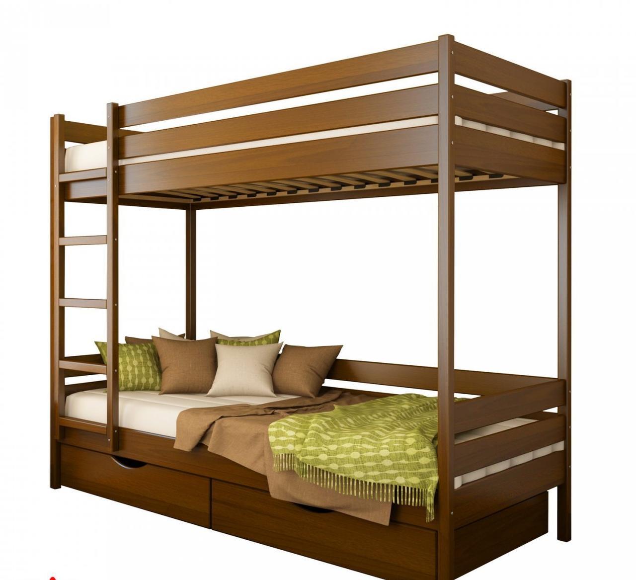 Кровать деревянная Дуэт ТМ Эстелла