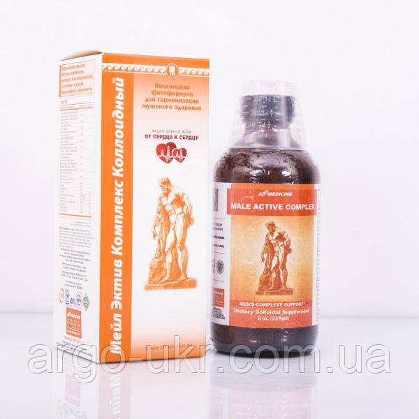 Мейл Активні Комплекс США Арго колоїдна фитоформула Арго Ad Medicine для чоловіків, простатит, аденома простати