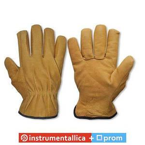 Перчатки защитные Cork Term с козей шкуры на подкладке блистер размер 10.5 RWCT105 Bradas