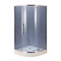 Душевая кабина AquaStream Premium 100LB распашная дверь серая 100х100х195