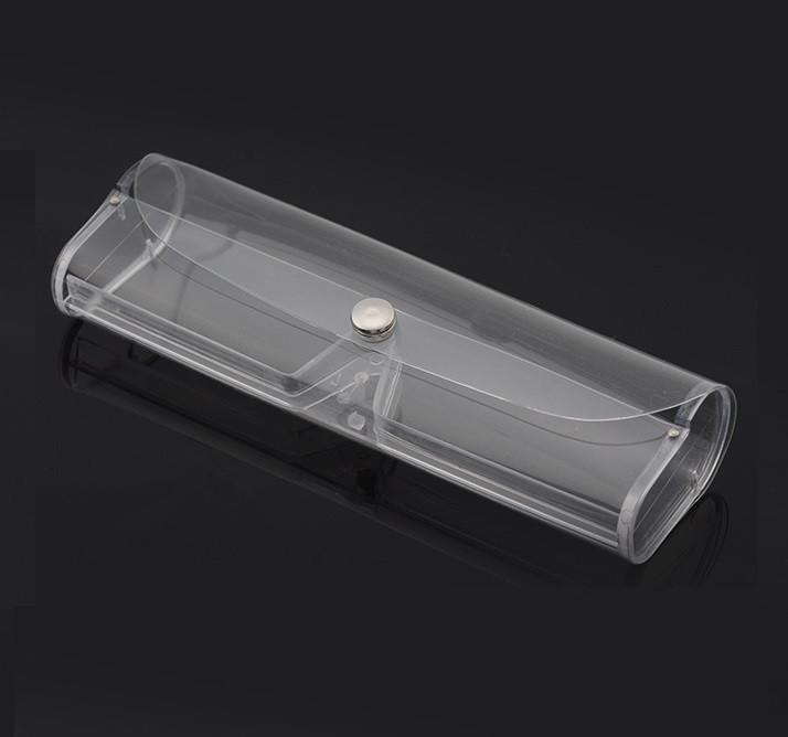 Футляр чехол прозрачный для очков Transparent
