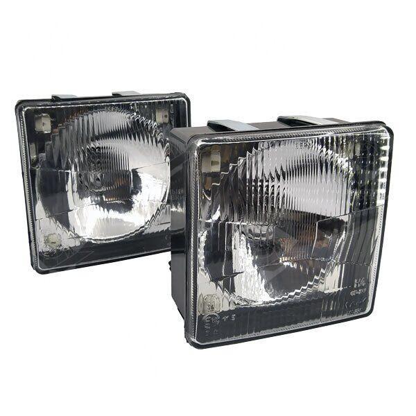 Комплект фар МТЗ квадратных ближнего и дальнего света ФГ-308-04