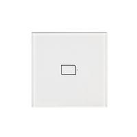 Умный сенсорный выключатель Broadlink BestCon TC2S-1 на одну зону (Белый), фото 1