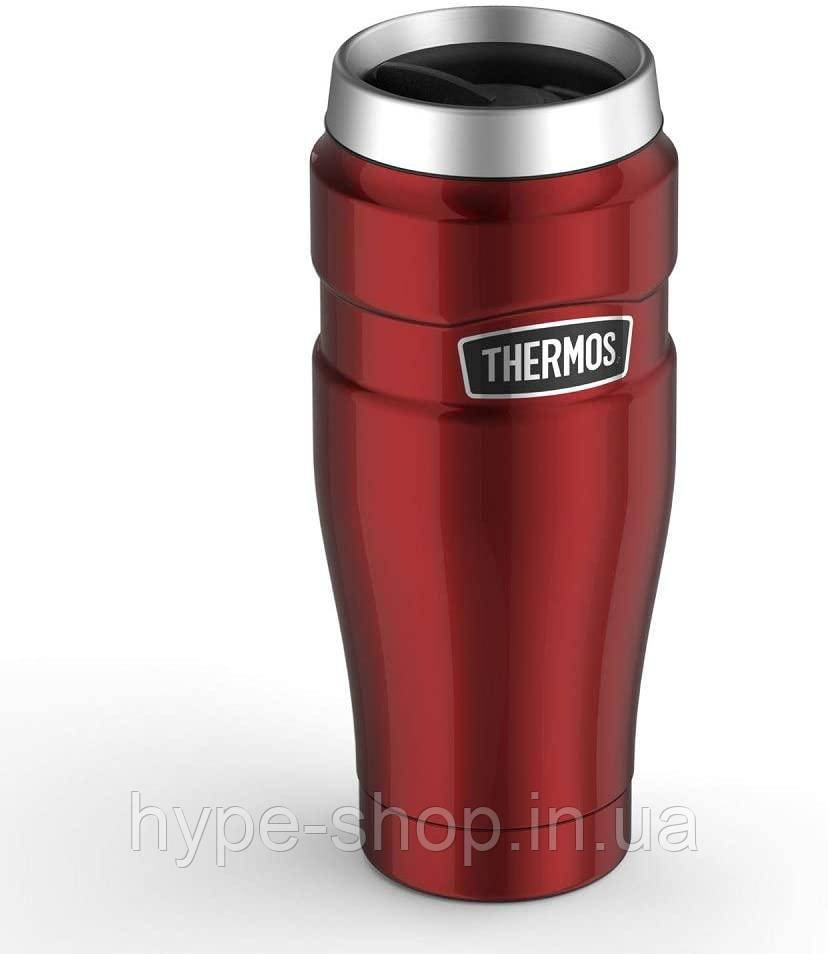 Термокружка без ручки 0,47л Thermos Stainless King Travel Tumbler Red (160021)