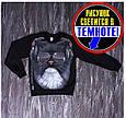 Джемпер толстовка светонакопительный светяшка Волк в наушниках, фото 6