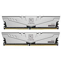 Модуль памяти DDR4 2х8GB 2666MHz Team T-Create Classic 10L Gray (TTCCD416G2666HC19DC01)