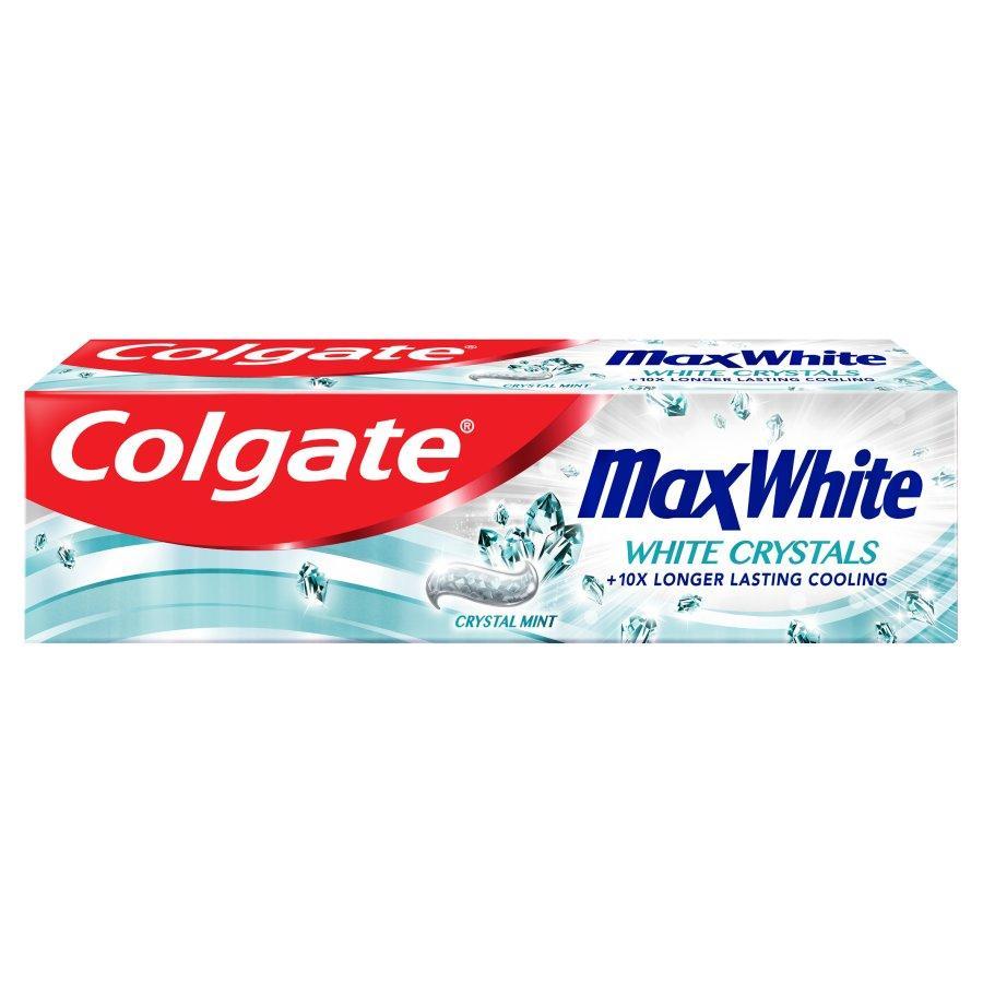 """Зубная паста Colgate Max White """"White Crystals"""" (100мл.)"""