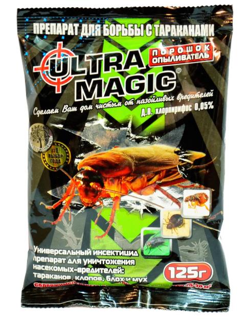 """Средство от тараканов """"Ultra Magic"""" (125г.)"""