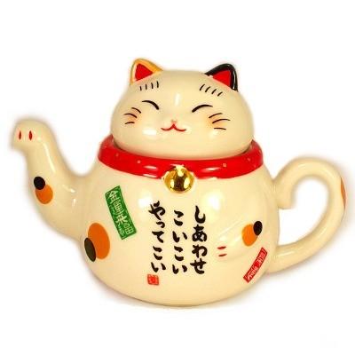 Чайник «Манеки-неко»
