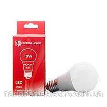 LED лампа груша E27 10 Вт 4100К