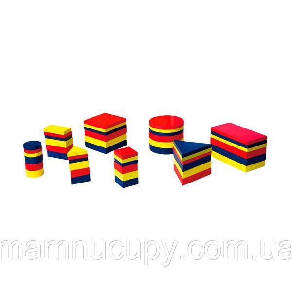 Навчальний набір Viga Toys Логічні блоки Дьєнеша (56164U)
