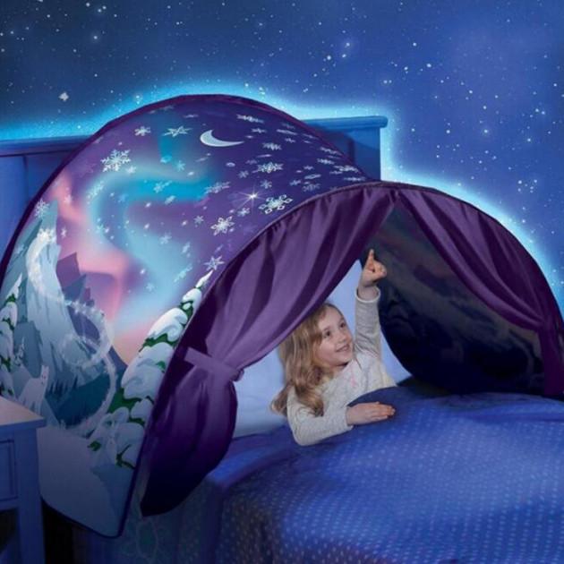 Детская игровая палатка мечты раскладывающаяся Dream Tents Unicorn Fantasy фиолетовая
