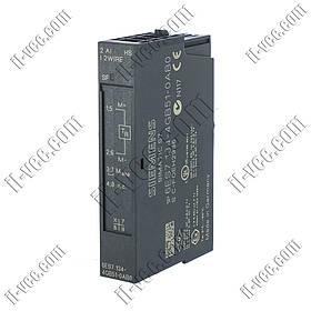 Модуль аналогового входа Siemens 6ES7 134-4GB51-0AB0, 2AI, 4..20mA