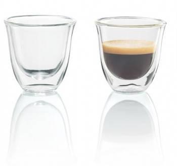 Набор стаканов Delonghi Espresso 60 мл, 2 шт