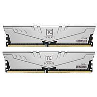 DDR4 2х8GB 2666MHz Team T-Create Classic 10L Gray (TTCCD416G2666HC19DC01)