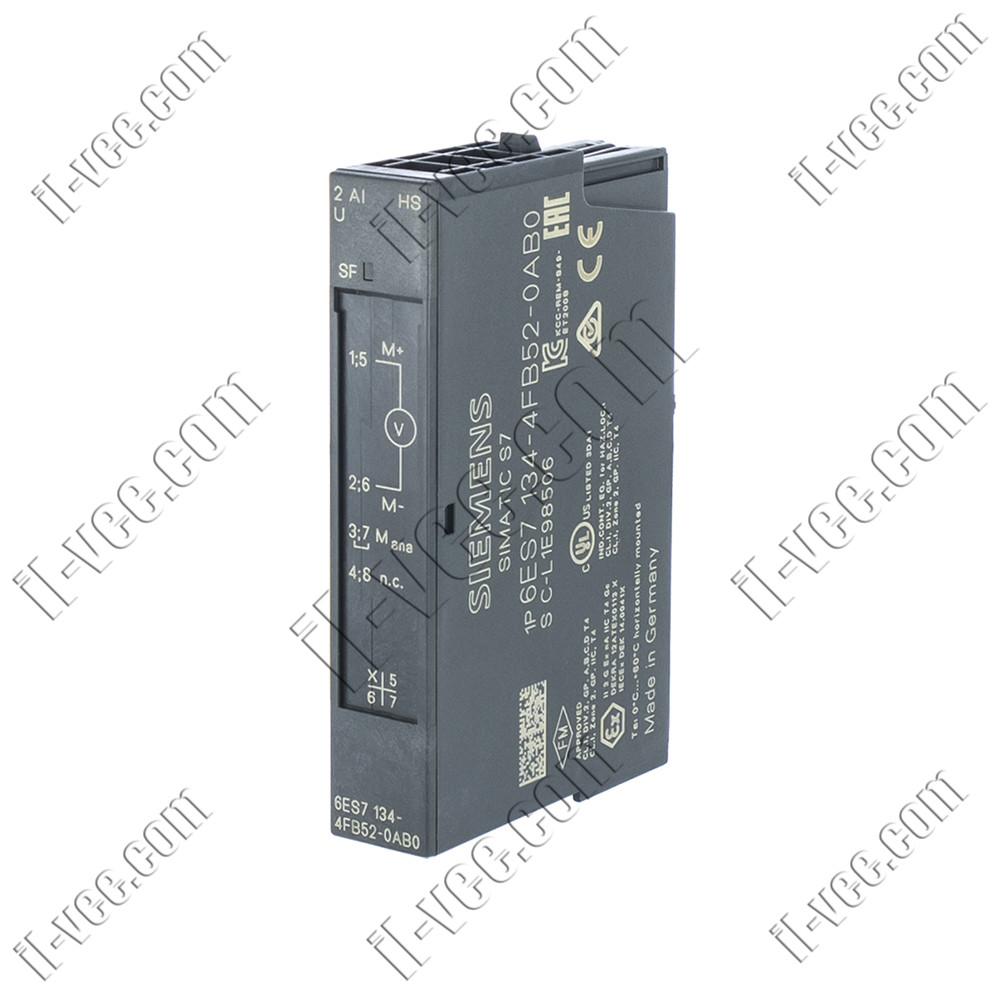Модуль аналогового входа Siemens 6ES7 134-4FB52-0AB0, 2 AI HIGH SPEED