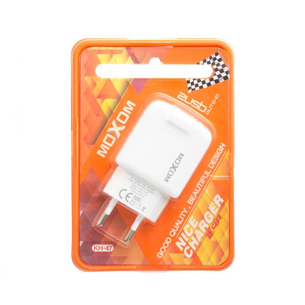 Сетевое зарядное устройство Moxom KH-47 2USB SKL11-231552