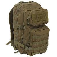 Тактичечкий штурмовий рюкзак Mil-tec 20 л олива