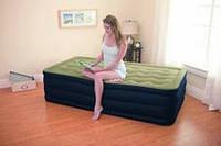 Надувная кровать Intex 67906 - одноместная полуторная надувная кровать, фото 1