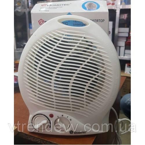 Тепловентилятор с терморегулятором Domotec MS-5902 1000/2000W