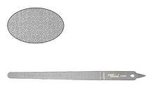 Двухсторонняя узкая пилка Lady Victory LDV S-FL5-04В /077-0