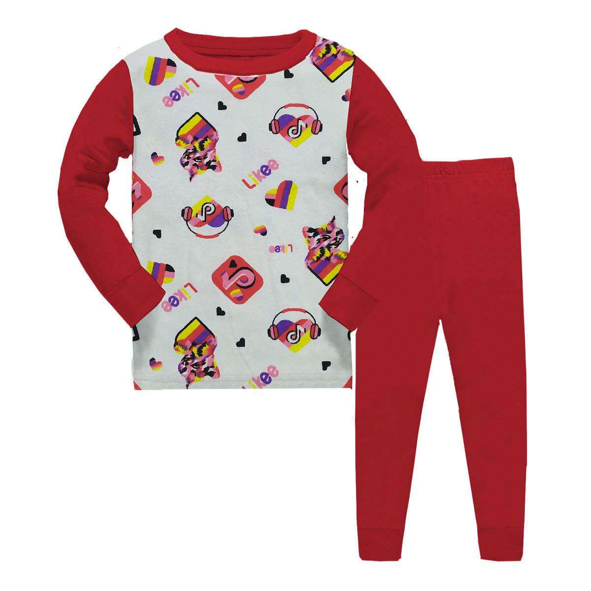 Пижама детская,для девочки демисезонная,Likeet+ КОТИК, Gupse