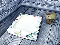 *10 шт* / Коробка для пряников / 200х200х30 мм / печать-Акварель / окно-обычн / лк, фото 1