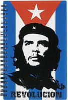 Блокнот с пластиковой обложкой на спирали Che Guevara Kite, 80 листов, А5
