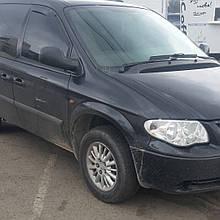 Дефлектори вікон (вітровики) CHRYSLER Voyager 1995-2007/Dodge Caravan 1995-2008 2шт(Heko)