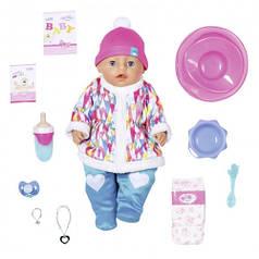 Кукла BABY BORN серии Нежные объятия - ЗИМНЯЯ МАЛЫШКА 43 cm с аксессуарами 831281