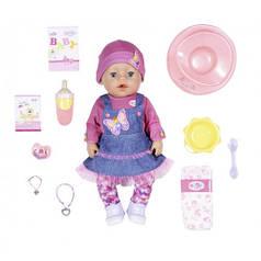 Кукла BABY BORN серии Нежные объятия - ДЖИНСОВЫЙ ЛУК 43 cm с аксессуарами 831298
