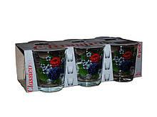 "Набор стаканов низких 250 мл Ежевика упаковка 6 шт ""ОСЗ"""