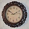 """Фігурний настінний годинник """"Bronze"""" (40 см.)"""