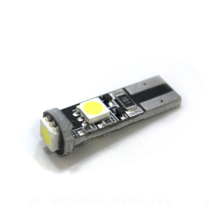 LED Galaxy T10 ( W5W ) CAN 5050 3SMD White (Белый)
