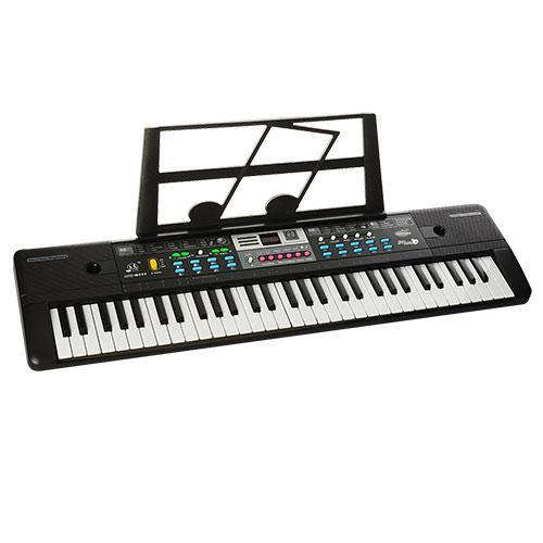 Синтезатор музыкальный (MQ6111-12) микрофон, 61 клавиша.